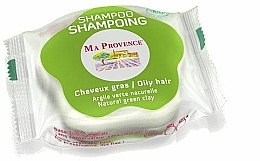Shampooing solide à l'argile verte naturelle - Ma Provence Shampoo — Photo N1