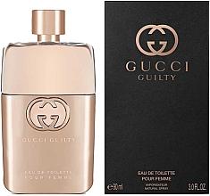 Parfums et Produits cosmétiques Gucci Guilty Eau de Toilette Pour Femme - Eau de Toilette