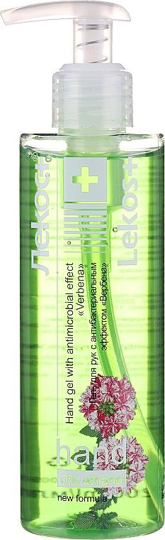 Gel antibactérien à l'extrait de verveine pour mains - Markell Cosmetics Lekos+