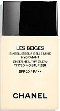 Parfums et Produits cosmétiques Fluide hydratant teinté pour visage - Chanel Les Beiges Sheer Healthy Glow SPF 30/PA++