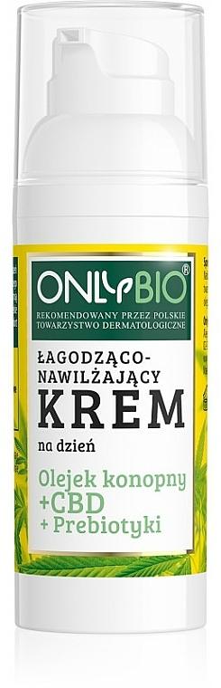 Crème de jour à l'huile de chanvre - Only Bio — Photo N1