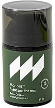 Parfums et Produits cosmétiques Crème à l'extrait d'algues pour visage - Monolit Skincare For Men Face Cream With Algae Extract
