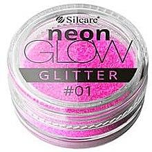 Parfums et Produits cosmétiques Paillettes pour ongles néon - Silcare Brokat Neon Glow