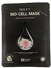 Parfums et Produits cosmétiques Masque bio-cellulose à l'extrait de lotus pour visage - SNP Brightening Bio-cell Mask