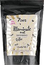 Parfums et Produits cosmétiques Gommage scintillant au café et huile de coco pour corps - 7 Days Illuminate Me Miss Crazy Coffee Shimmering Body Scrub
