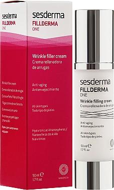 Crème à l'acide hyaluronique pour visage - SesDerma Laboratories Fillderma One Wrinkle Filling Cream — Photo N1
