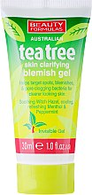 Parfums et Produits cosmétiques Gel clarifiant anti-imperfections à l'extrait de thé vert visage - Beauty Formulas Tea Tree Skin Clarifying Blemish Gel