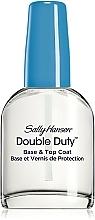 Parfums et Produits cosmétiques Base et top coat pour ongles - Sally Hansen Double Duty