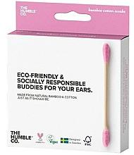 Parfums et Produits cosmétiques Cotons-tiges en bambou - The Humble Co. Cotton Swabs Pink