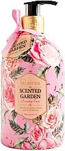 Parfums et Produits cosmétiques Savon liquide Rose - IDC Institute Scented Garden Hand Wash Country Rose