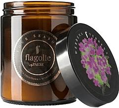Parfums et Produits cosmétiques Bougie parfumée en jarre, Verveine - Flagolie Fragranced Candle Verbena