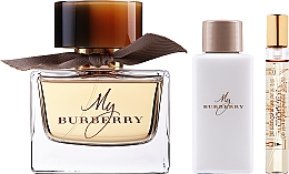Parfums et Produits cosmétiques Burberry My Burberry - Coffret (eau de parfum 90ml + lait corporel/75ml + eau de parfum/7,5ml)