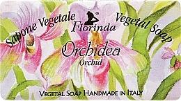 Parfums et Produits cosmétiques Savon végétal artisanal, Orchidée - Florinda Sapone Vegetale Vegetal Soap Orchid