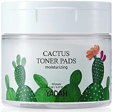 Parfums et Produits cosmétiques Disques démaquillants au cactus - Yadah Cactus Moisturizing Toner Pads