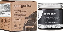 Parfums et Produits cosmétiques Dentifrice en poudre naturel au charbon actif - Georganics Activated Charcoal Natural Toothpowder