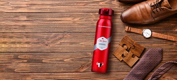Recevez un déodorant pour homme offert en achetant des produits Old Spice pour 9 €