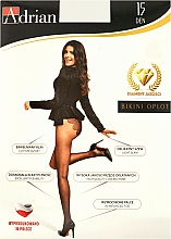 Parfums et Produits cosmétiques Collant pour femme, Bikini Oplot, 15 Den, nero - Adrian