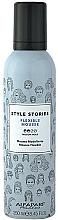 Parfums et Produits cosmétiques Mousse coiffante, fixation moyenne - Alfaparf Style Stories Flexible Mousse Medium Hold