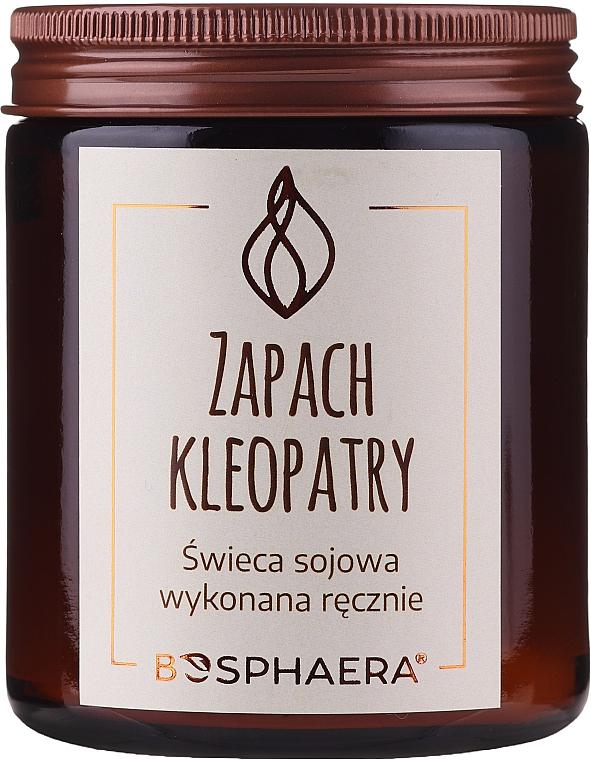 Bougie parfumée de soja, Le parfum de Cléopâtre - Bosphaera The Scent of Cleopatra Candle