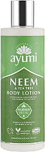 Parfums et Produits cosmétiques Lotion au neem pour corps - Ayumi Neem & Tea Tree Body Lotion