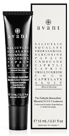 Traitement anti-imperfections à l'acide salicylique pour visage - Avant Pro Salicylic Immediate Blemish S.O.S Treatment — Photo N1