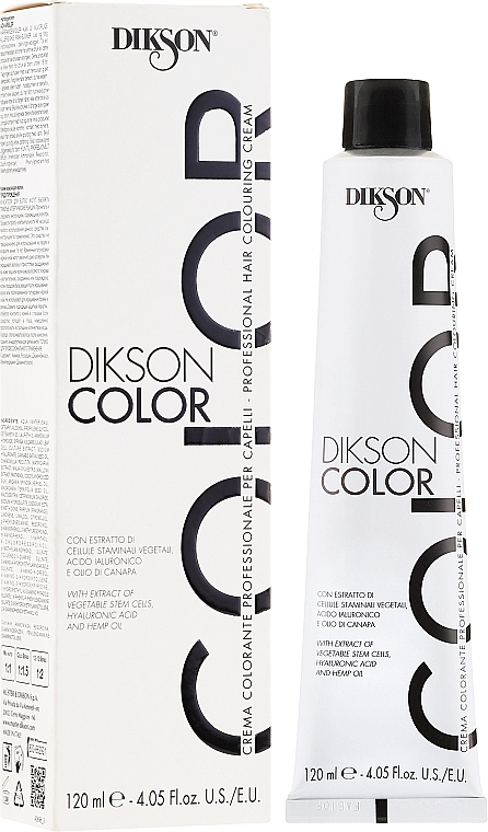 Coloration cheveux - Dikson Professional Hair Colouring Cream