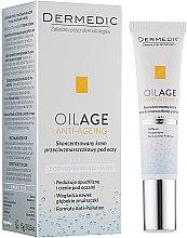 Parfums et Produits cosmétiques Crème-concentré à l'huile d'avocat pour contour des yeux - Dermedic Oilage Concentrated Anti-Wrinkle Eye Cream