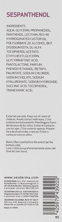 Brume à l'acide hyaluronique pour visage - Sesderma Sespanthenol Mist — Photo N3