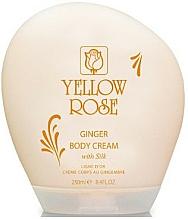 Parfums et Produits cosmétiques Crème au gingembre pour corps - Yellow Rose Ginger Body Cream