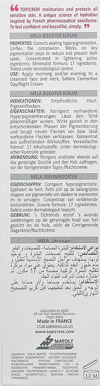 Sérum-booster anti-pigmentation pour visage - Topicrem Mela Booster Serum — Photo N3