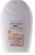 Parfums et Produits cosmétiques Lait de douche - Byphasse Caresse Shower Cream Orange Blossom