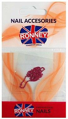 Chaîne pour nail art, 00378, rose doré - Ronney Professional — Photo N1