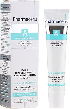 Crème à l'acide hyaluronique pour visage - Pharmaceris A Hyaluro-sensilium