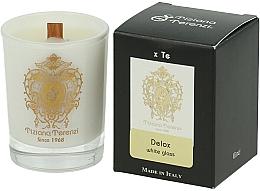 Parfums et Produits cosmétiques Tiziana Terenzi Delox Scented Candle White Glass - Bougie parfumée