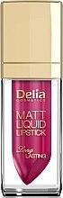 Parfums et Produits cosmétiques Rouge à lèvres liquide - Delia Cosmetics Matt Liquid Lipstick