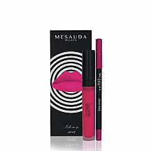 Parfums et Produits cosmétiques Kit cosmétique - Mesauda Milano Lip Kit (rouge à lèvres/7ml + crayon contour lèvres/1.14g)