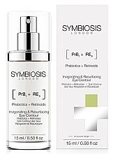 Parfums et Produits cosmétiques Soin aux prébiotiques pour contour des yeux - Symbiosis London Invigorating & Resurfacing Eye Contour