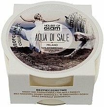 Parfums et Produits cosmétiques Bougie parfumée de soja et cire d'abeille - House of Glam Aqua Di Sale Candle (mini)