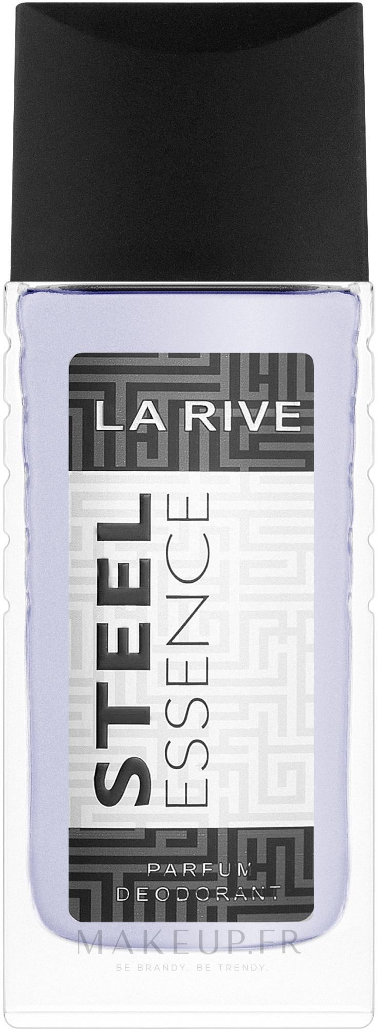 La Rive Steel Essence - Déodorant spray parfumé — Photo 80 ml