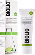 Parfums et Produits cosmétiques Crème à l'huile de citron pour mains et ongles - Bioliq Body Hand And Nail Regenerating Cream