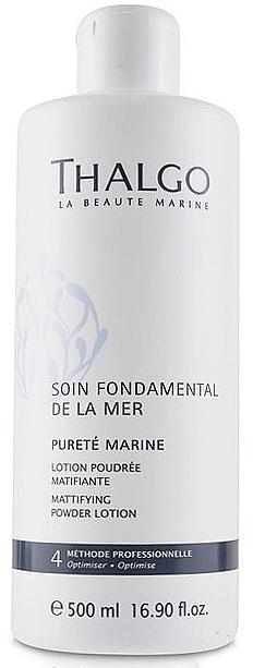 Lotion poudrée matifiante à l'eau marine pour visage - Thalgo Purete Marine — Photo N2