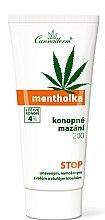 Parfums et Produits cosmétiques Gel de massage rafraîchissant à l'huile de chanvre pour corps - Cannaderm Mentholka