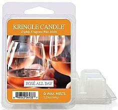 Parfums et Produits cosmétiques Cire parfumée pour lampe aromatique - Kringle Candle Rose All Day Wax Melts