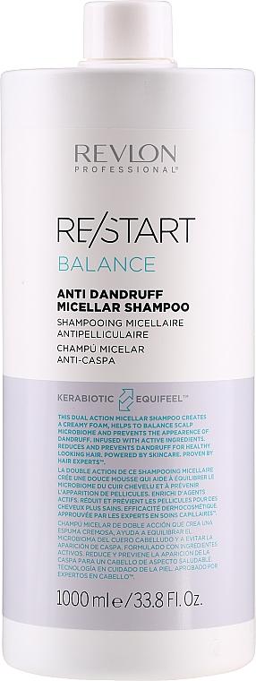Shampooing micellaire antipelliculaire - Revlon Professional Restart Balance Anti-Dandruff Micellar Shampoo — Photo N3