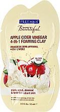 Parfums et Produits cosmétiques Masque éclaircissant en vinaigre de cidre pour visage - Freeman Feeling Beautiful 4-in-1 Apple Cider Vinegar Foaming Clay (mini)