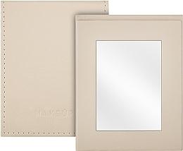 Parfums et Produits cosmétiques Miroir de poche pliable, beige - MakeUp Pocket Mirror Beige