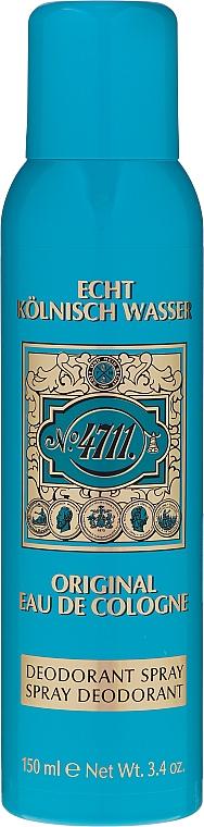 Maurer & Wirtz 4711 Original Eau de Cologne - Set (eau de cologne/90ml + déodorant/90ml) — Photo N2