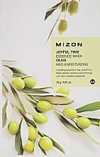 Parfums et Produits cosmétiques Masque tissu à l'olive pour visage - Mizon Joyful Time Olive Essence Mask
