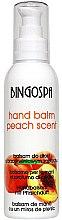 Parfums et Produits cosmétiques Baume à la pêche pour mains - BingoSpa Balsam Peach In Your Hand