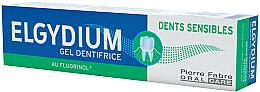 Parfums et Produits cosmétiques Gel dentifrice au fluorinol - Elgydium Sensitive Teeth Toothpaste Gel